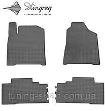 Гумові килимки SsangYong Korando 2011- (Санг Йонг Корандо) кількість 4 штуки