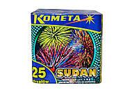 Феєрверк, Салют Sudan 25 пострілів (P7037) Kometa