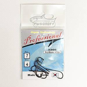 Крючки Professional 1301 размер 4 количество 7