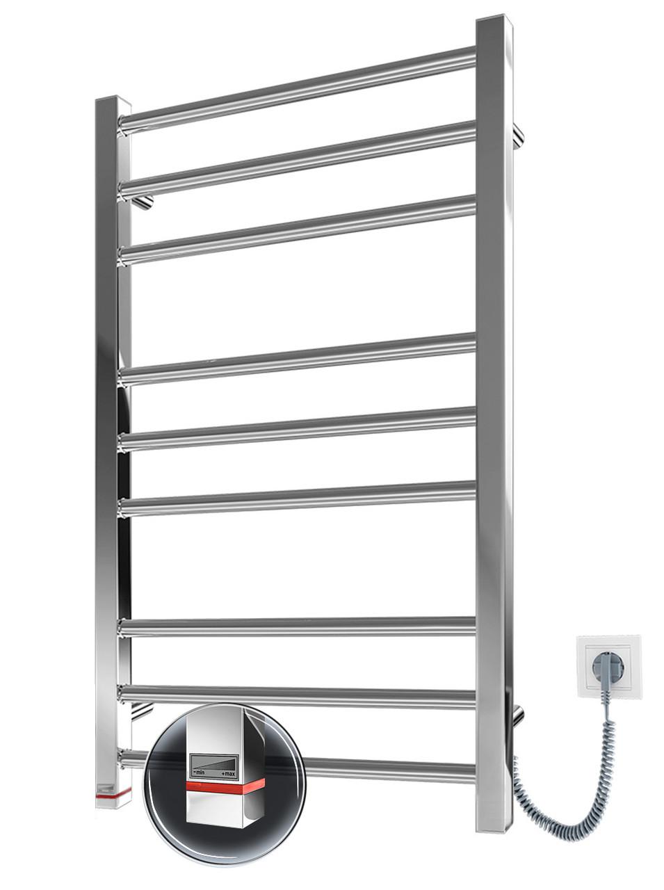 Электрический полотенцесушитель Марио Премиум Классик-I 800x500