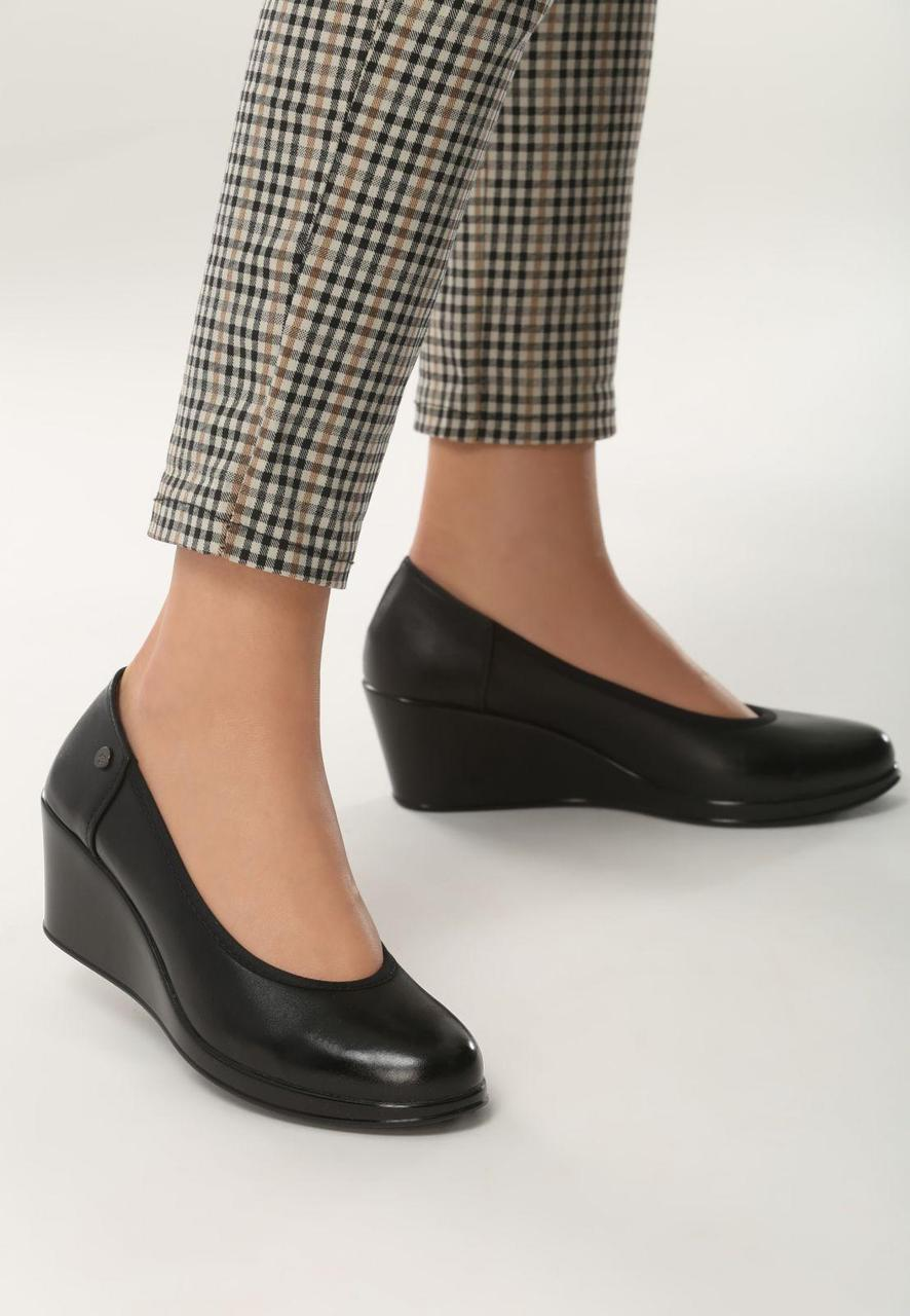 c012c2338 Черные туфли на небольшой платформе искусственная кожа 40 Vices - Интернет  магазин