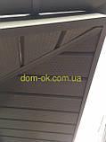 Металлическая водосточная система, желоб D-120 мм, труба D-100мм,  цветная * Угол желоба наружный/внутренний, фото 7