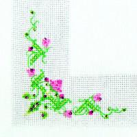 Набор для вышивки стразами «Салфетка весна»