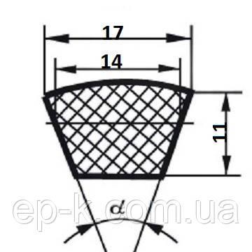 Ремень клиновой В (Б)-1550, фото 2