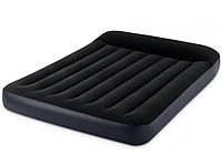 Двуспальный надувной матрас 1.52 x 2.03 x 25 см, Intex 64143