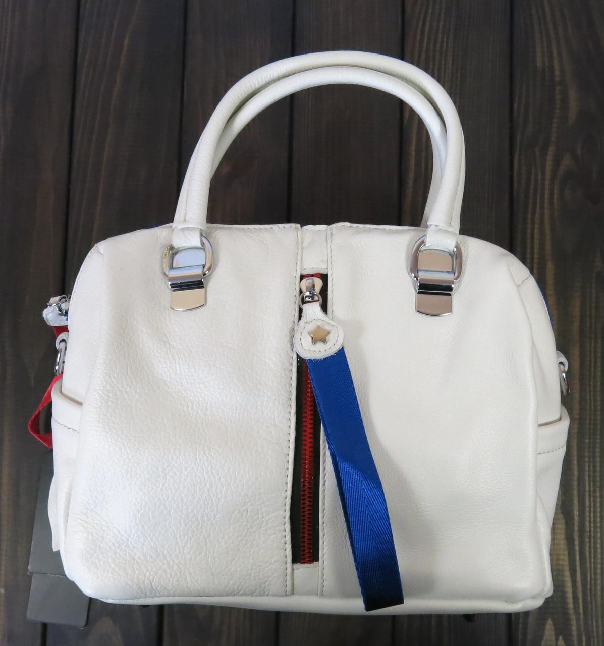 Бежевая сумка Farfallo Rosso