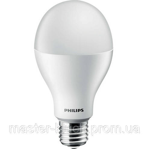 Светодиодная лампа стандартная Philips LED Bulb 8W-60W E27 A55 3000К