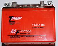 Аккумулятор 12v4a.h. оранжевый гелевый ТММР