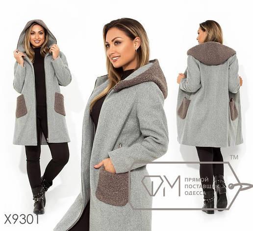 Пальто женское размеры: 48-54, фото 2