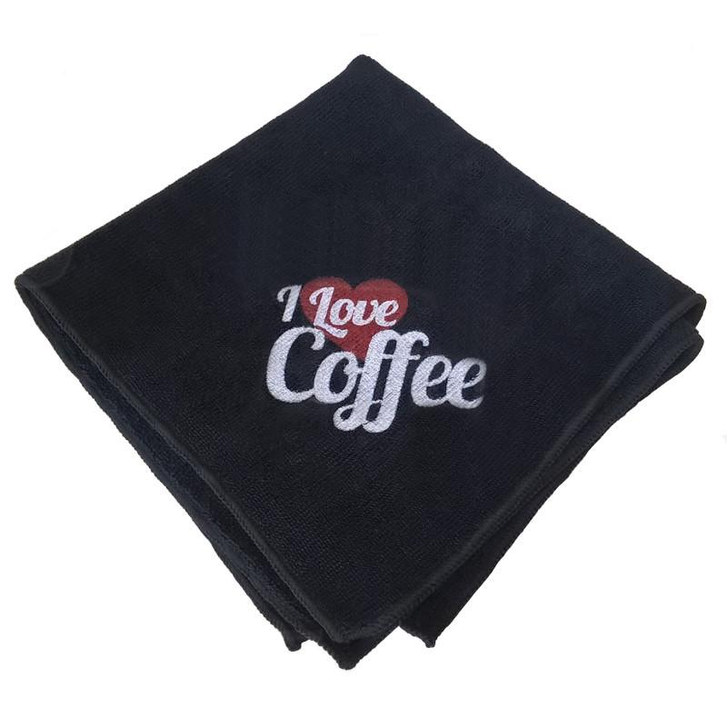 """Микрофибра DVG """"I Love Coffee"""" 40х40см"""