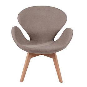 Кресло Сван Вуд Армз коричневое (СДМ мебель-ТМ)