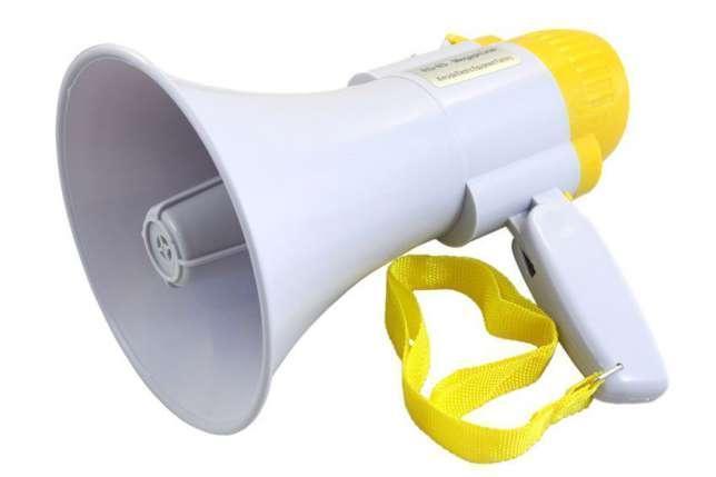 Громкоговоритель MEGAPHONE 8C, рупор, мегафон