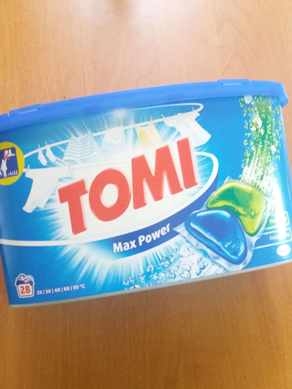 Капсулы для стирки ТОМi max power  из Венгрии 28шт