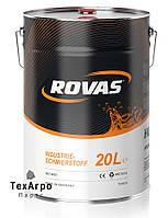 Rovas HVLP 68 Минеральное гидравлическое масло HVLP (20 литров)