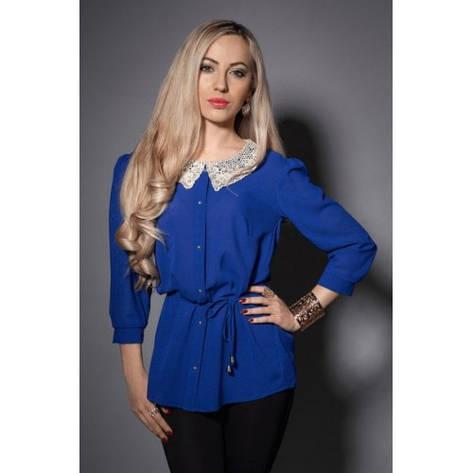 Женская блуза с красивым воротником, фото 2