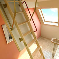 Чердачная лестница FAKRO LTK Thermo 60х120
