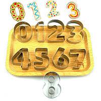 Формы для печенья Цифры 0 .. 9 металлические