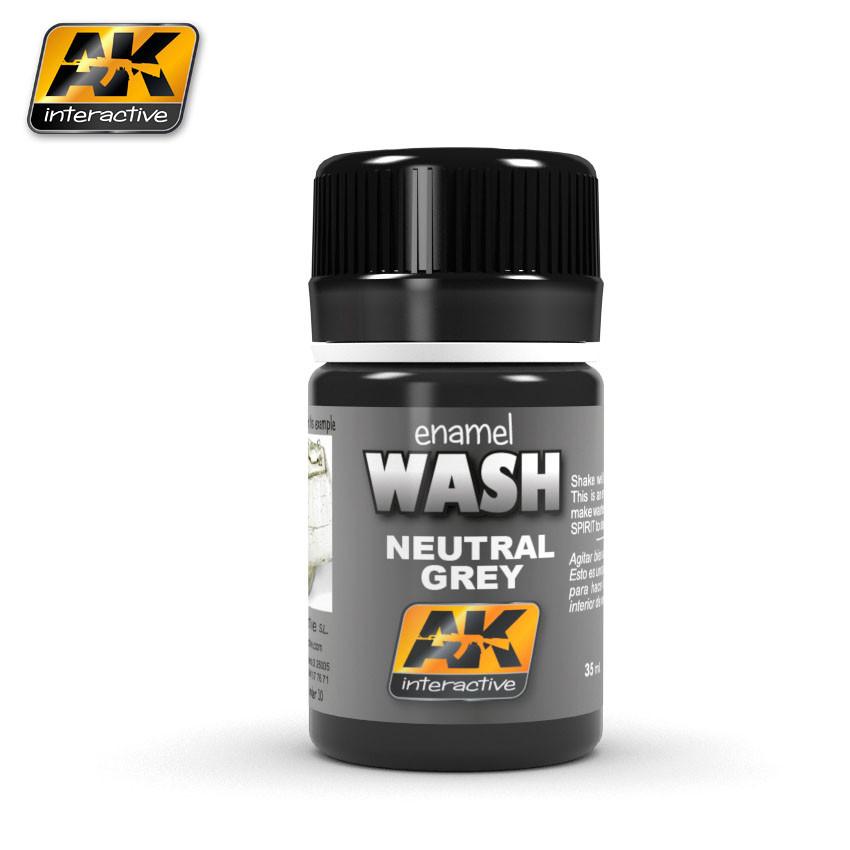 Смывка нейтральный серый 35 мл. AK-INTERACTIVE AK-677