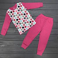 Детская Пижама для девочек оптом р.4-5-6 лет