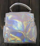 Перламутровый женский рюкзак Farfallo Rosso, фото 1