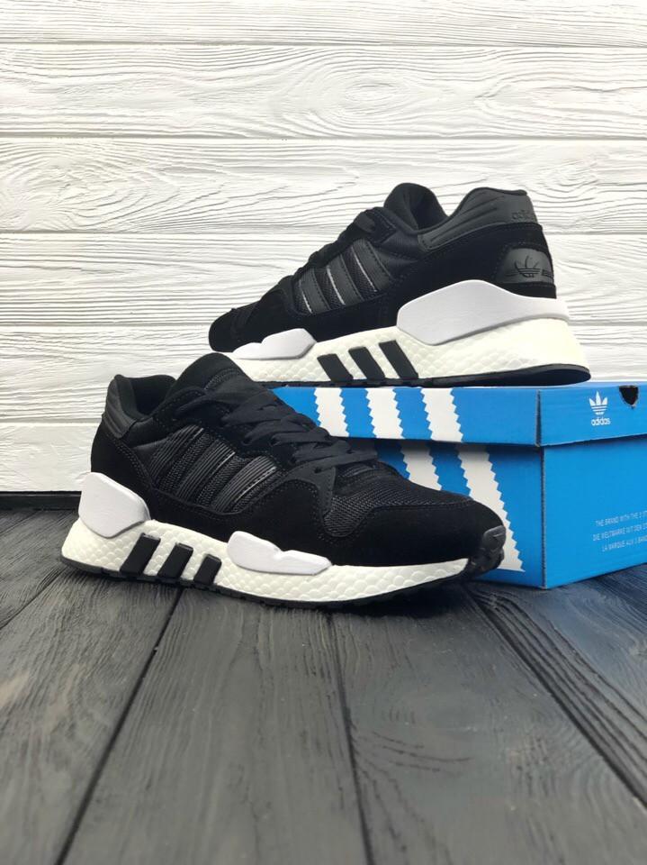 Кросівки чорні Adidas Equipment SUPPORT 91/18 Розміри: 41-45