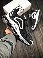 Кросівки чоловічі чорно-білі Nike Air Max 720 Розмір: 40-45, фото 1