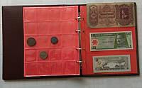 Альбом для монет и банкнот Crown набоной