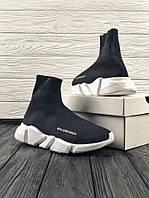 Кросівки чорні BALENCIAGA Speed trainer 37-45, фото 1