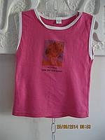 Детская, летняя  футболка- атлет хб Турция 4 года
