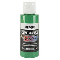 Краска для аэрографии Createx Colors светло-зеленая непрозрачная, 60 мл