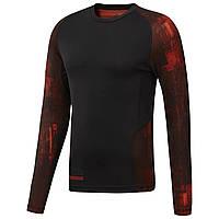 Мужская футболка с длинным рукавом Reebok Combat(Артикул:D96000)
