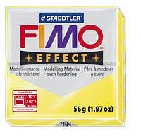 """1048020 Полимерная глина""""FIMO Effect"""",прозрачный желтый (56г)"""