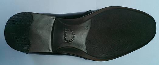 Туфли мужские черные, фото 2