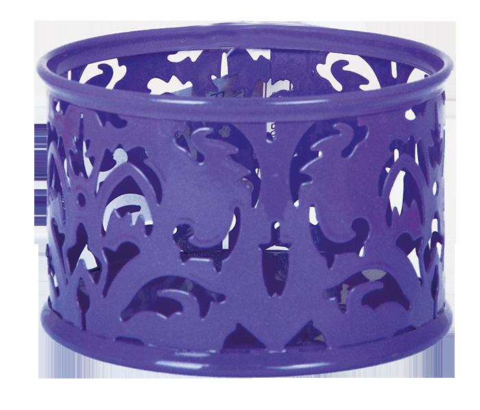 """Підставка для скріпок """"BAROCCO"""", металева, фіолетовий"""