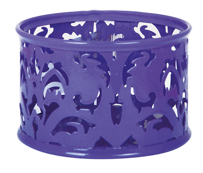"""Подставка для скрепок """"barocco"""", металлическая, фиолетовый"""