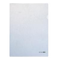 Папка уголок А4 Экономикс, 180 мкм фактура глянец белая(E31153-14)