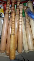 Бита деревянная тяжелая 40см дуб