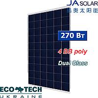 Солнечная панель JA Solar JAP6DG1500-60-270W 4BB поликристалл