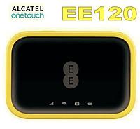 Мобильный 4G/3G Wi-Fi роутер Alcatel EE120 LTE до 600 Мбит/с. (PowerBank 4300 mAh)