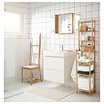 IKEA BRAVIKEN Одинарная раковина, белый  (301.955.48), фото 4