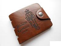 Модный мужской кошелек клатч Bailini Genuine портмоне для мужчин