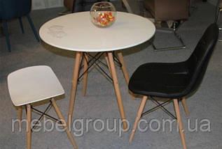 Стіл обідній Тауер Вуд круглий d-80см, фото 3