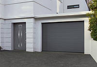 Ворота 3000х2250 гаражні M-гофр Woodgrain/Decocolor Hormann, фото 1