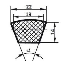 Ремень клиновой  С (В)-1180