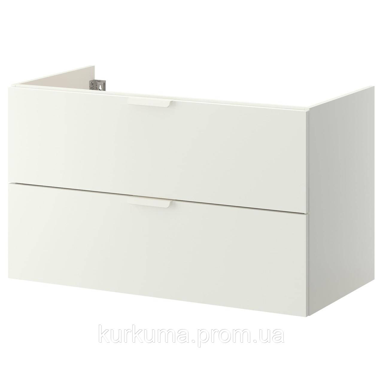IKEA GODMORGON Шкаф под умывальник, белый  (003.441.06)