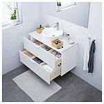 IKEA GODMORGON Шкаф под умывальник, белый  (003.441.06), фото 2