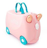 Детский дорожный чемодан, Flossi, Trunki TRU-0353, фото 1