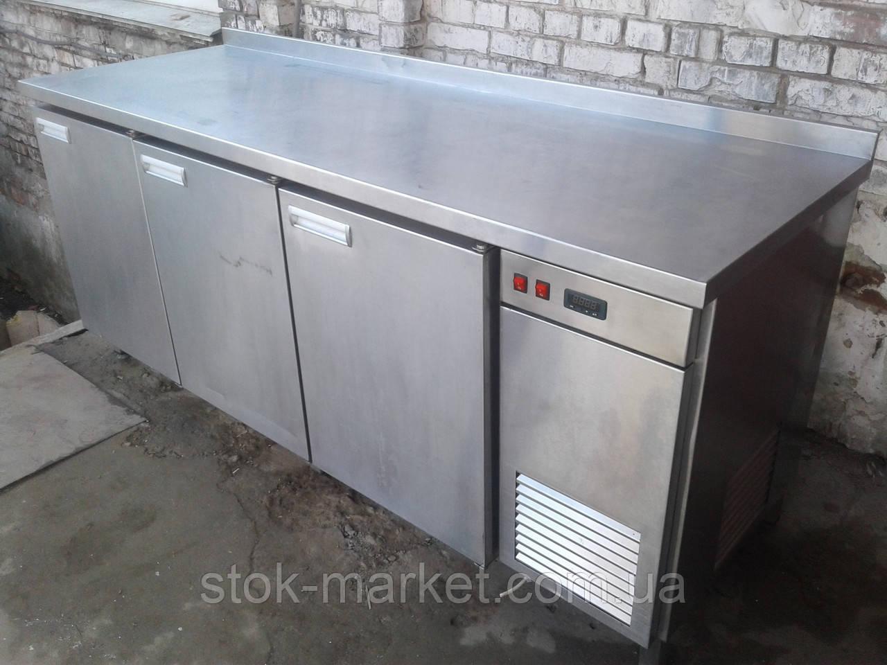 Холодильный стол Украина 2 м. б/у, Стол холодильный б у, Холодильный стол б у