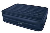 Надувная двухспальная кровать Intex (64440)  66718 со встроенным електронасосом 220  W/