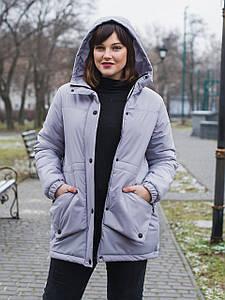 Жіноча куртка Size+ (великі розміри — 50-66)